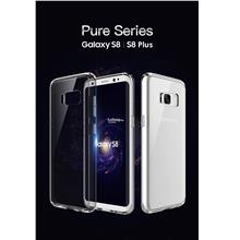Rock Pure Series Transparent Hard Back Case Cover Galaxy S8 S8 Plus