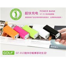 Golf Tiger 13 Power Bank 2600mah Powerbank