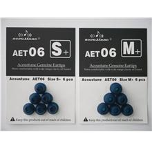 (PM Availability) Acoustune AET06 Double Flange Eartips 3 Pairs
