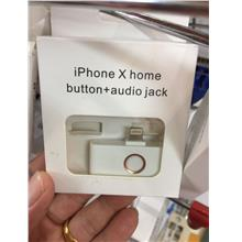 BSS Iphone X Home Button + 3.5MM Audio Jack Charging Port