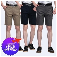 Men Cotton Above Knee Length Smart And Casual Short Pants
