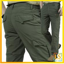 Nian Jeep Man Outdoor Hiking Multi-Pockets Long Trouser Pants