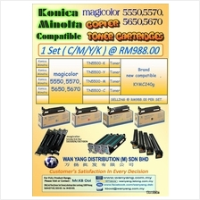 Konica Minolta Magicolor 5550,5570,5650,5670 Copier Toner Cartridges