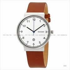 SKAGEN SKW6433 Men Ancher Titanium Case Interchangeable Leather Brown
