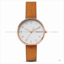 SKAGEN SKW2624 Women's Signatur Interchangeable Leather Strap Tan