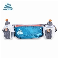 AONIJIE UNISEX RUNNING WAIST BAG WITH 170ML WATER KETTLE (BLACKISH GRE