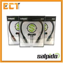 Salpido B03 Metal Magnetic Sport Bluetooth Stereo Headset with Mic