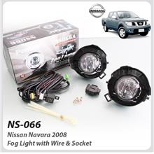 Fog Light With Wire & Socket For Nissan Navara 2008