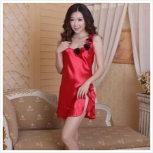 PLUS SIZE SEXY LINGERIE / BABYDOLL JL0105P (RED, SIZE XL)