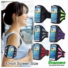 Mesh Breathy Sports Armband Gym Running Jogging 4 Inch Mobile Phone