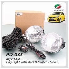 Fog Light With Wire & Switch For Perodua Myvi SE 2