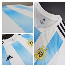 Jersey - Argentina Home Player Issue World Cup Official 2018 Football