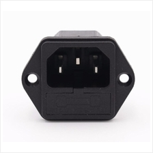 AC Socket with Fuse Base 3Pin 10A 250V
