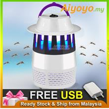 USB Ultraviolet Ray Mosquito Repellent Trap Killer Lamp Nyamuk Insect