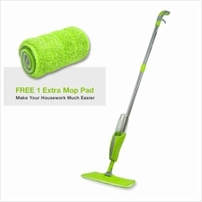 Washable Microfiber SS Pole Spray Mop + FREE 1 Extra Mop Pad