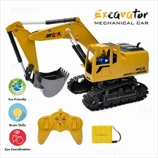 Remote Control RC Alloy Excavator RTR Mechanical Car Toys Music LED