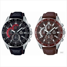 CASIO EFV-550L EDIFICE chronograph retrograde leather strap *Variants