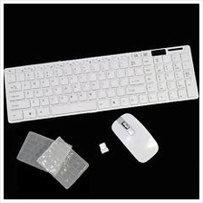 Slim Wireless Keyboard and Mouse Combo