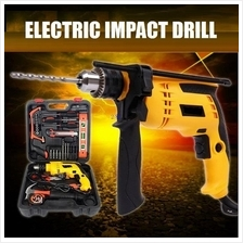Electric Impact Drill with Tool Kit 10mm/13mm 800W Electric Hand Drill