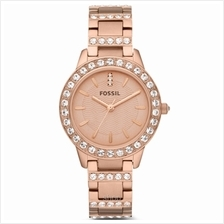 Fossil ES3020 Women Jesse Rose Gold-Plated Stainless Steel Watch