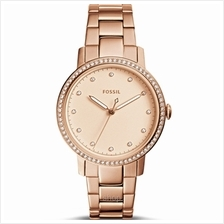 Fossil ES4288 Women Neely Three-Hand Rose Gold-Tone Stainless Steel Watch