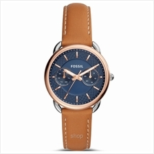 Fossil ES4257 Women Tailor Multifunction Luggage Leather Watch