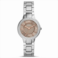 Fossil ES4147 Women Virginia Three-Hand Stainless Steel Watch