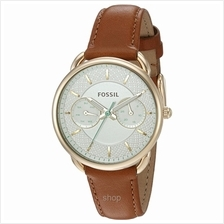 Fossil ES4006 Women Tailor Multifunction Dark Brown Leather Watch