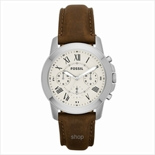 Fossil Men's Grant Analog Display Analog Quartz Brown Watch - FS4839)