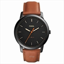 Fossil FS5305 Men's The Minimalist Slim Light Brown Leather Watch)
