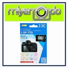 JJC GSP-77D Tempered Glass LCD Screen Protector for Canon 77D 9000D