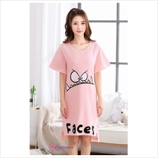 Loveena Plus Size Sleepwear Pyjamas Dress P0604