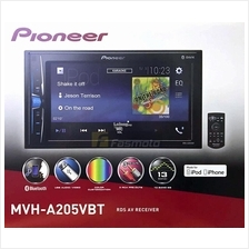 Pioneer MVH-A205VBT 6.2 2 DIN Bluetooth USB iPod/iPhone Control (No D