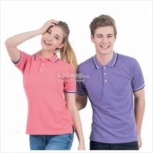 EZ2016. Unisex Heather Color Polo T-Shirt