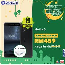 NOKIA 6.1 (4GB RAM | 64GB ROM)ORIGINAL- Latest model by Nokia Malaysia
