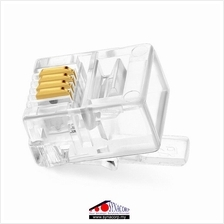 RJ11 Modular Telephone Plug 6P4C High Quality