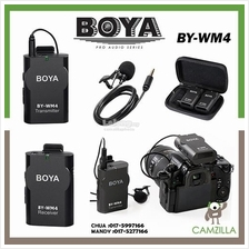 BOYA BY-WM4 Professional Universal Wireless Lavalier Microphone System