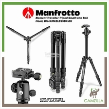 Manfrotto Element Traveller Tripod Small with Ball Head, Black