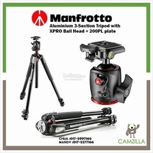 Aluminium 3-Section Tripod with XPRO Ball Head + 200PL plate MK055XPRO
