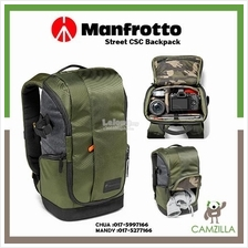Manfrotto Street camera backpack for CSC, laptop pocket MB MS-BP-GR