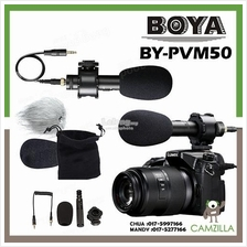 BOYA BY-PVM50 Stereo Condenser Microphone For Canon Nikon Pentax