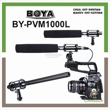 BOYA BY-PVM1000L Condenser Shotgun Microphone 3-pin XLR Output on DSLR