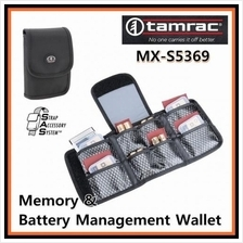 Tamrac MXS5369 BLACK SAS Memory Battery Management Wallet 8