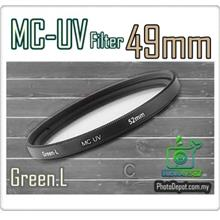 Green.L 49mm MC-UV Multi Coated Ultra-Violet Filter