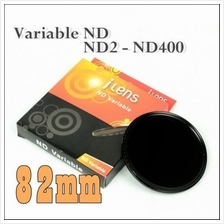 I-Lens 82mm ND2 to ND400 slim fader ND filter adjustable variable