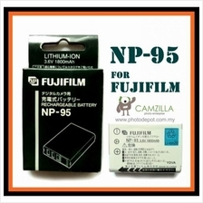 NP-95 1800mAh Li-Ion Battery for Fujifilm F30 F31 X100 3D W1 NP95