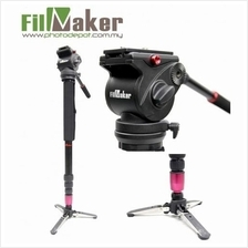 FilmMaker FM-02 Fluid Video Monopod with Fluid Video Head For Dslr