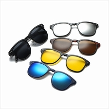 d1dc4f6989 4GL 2218A Magnetic Clip On 6 in 1 Polarized UV Protection Sunglasses