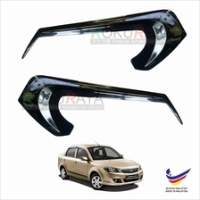 Proton Saga FL FLX (2010-2016) Car Head Lamp Eye Lid Brow Cover