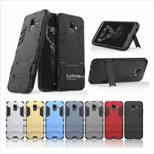 SAMSUNG A6 PLUS A8 STAR J4 PLUS J6 A7 2018 IRONMAN STANDABLE Case
